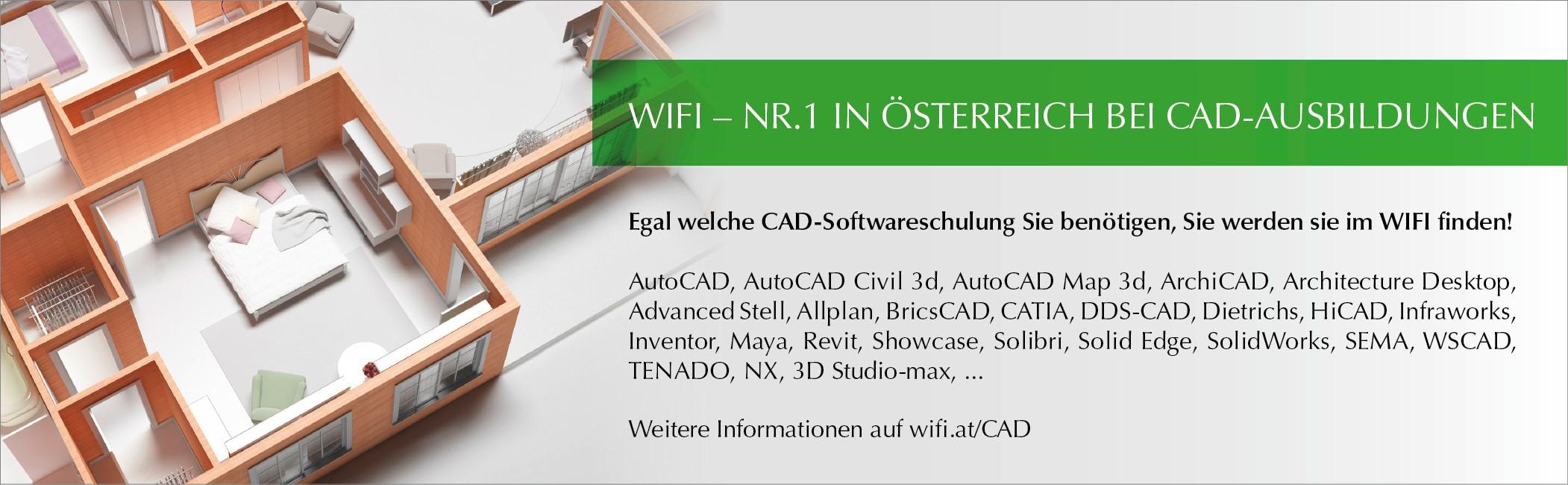 CAD Ausbildungen am WIFI OÖ