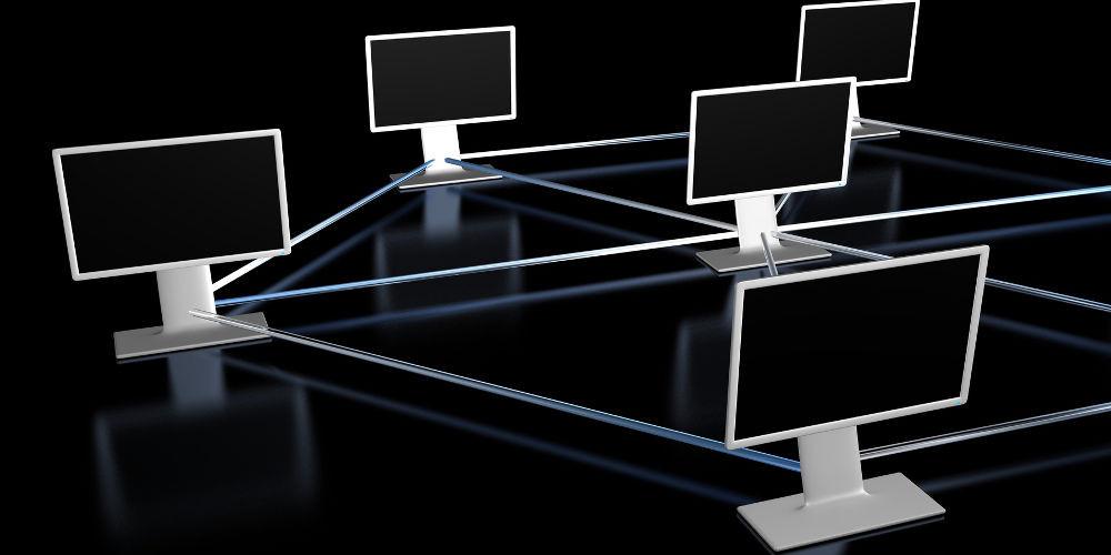 Netzwerk Symbolbild