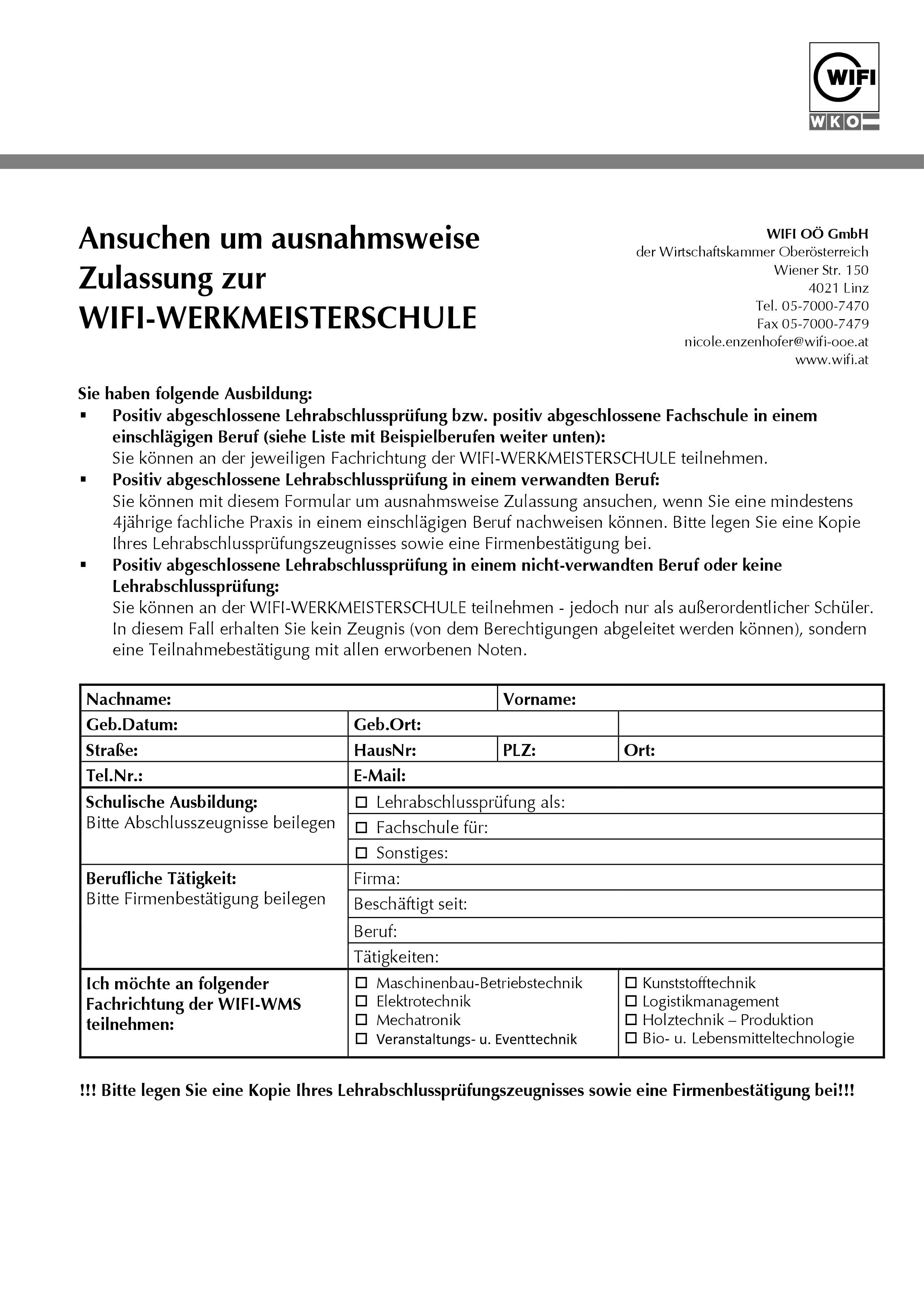 Folder WIFI Werkmeisterschule